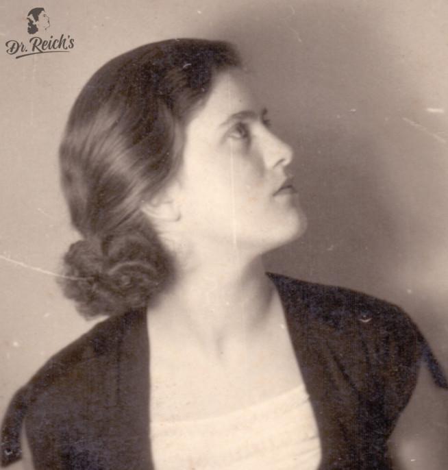Dr. Ilse Reich - Namensgeberin, Mitgründerin und Vorbild für das Marken-Logo von Dr. Reich´s
