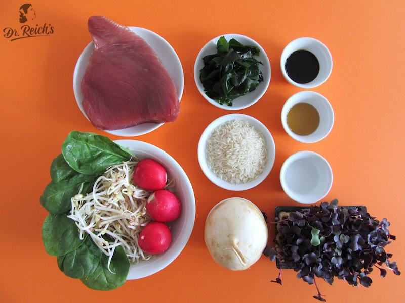 Dr. Reich´s Reizdarm FODMAP Gourmet Tipp traditionell fermentierte Tamari Sojasoße, Sesamöl und Reisessig
