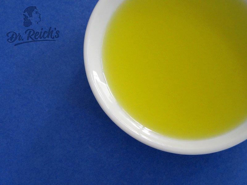 Dr. Reich´s No Carb Tipp: Olivenöl aus einer Kaltpressung.
