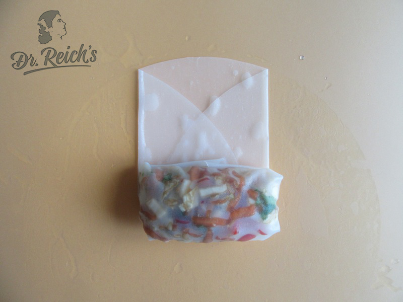 Dr Reichs Life Hack Reispapier Wrap step 5