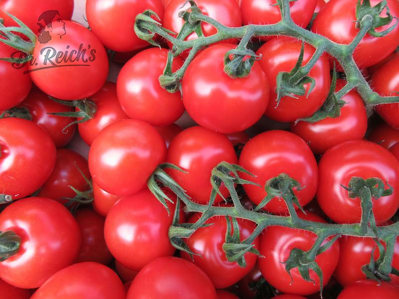 Reife, aromatische Tomaten - Dr Reichs FODMAP Sauce Zutat