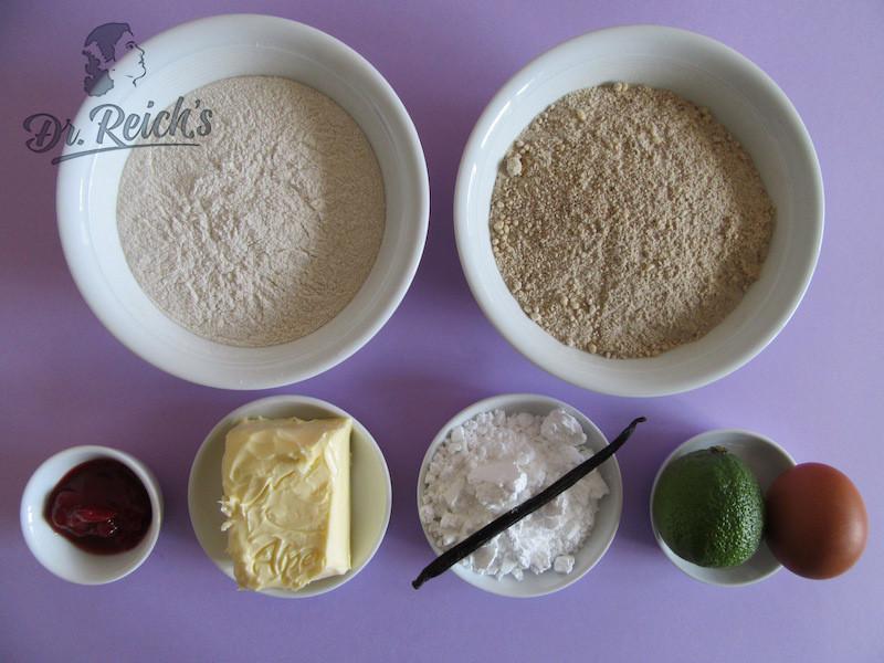Dr Reichs Low Fodmap Xmas Cookies Zutaten in Bio-Qualität
