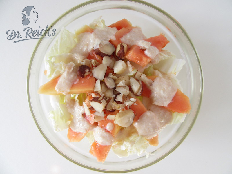 Fodmap Rezept Low Carb Dr Reichs Papaya Chinakohl Salat
