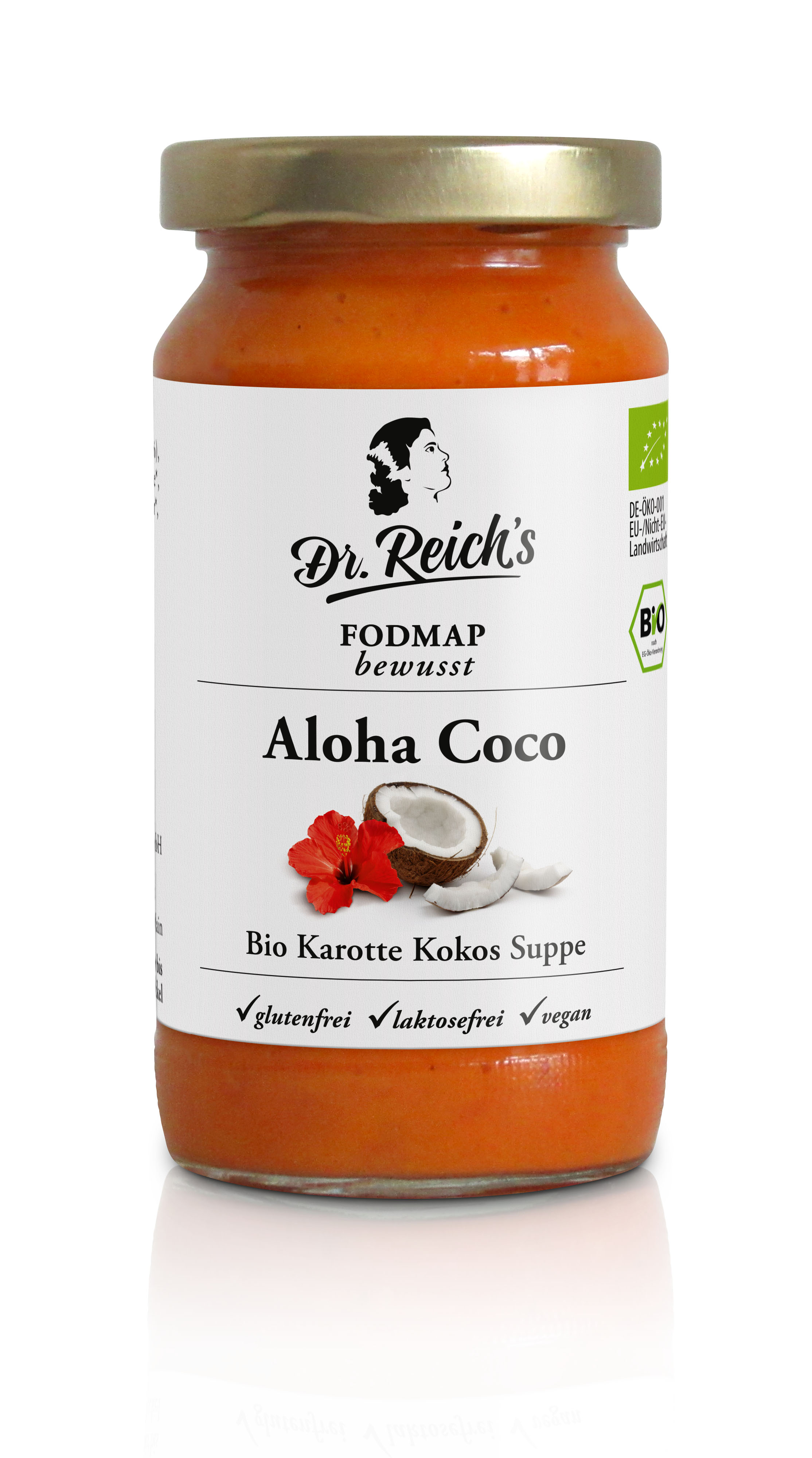 Dr Reichs Aloha Coco FODMAP Suppe