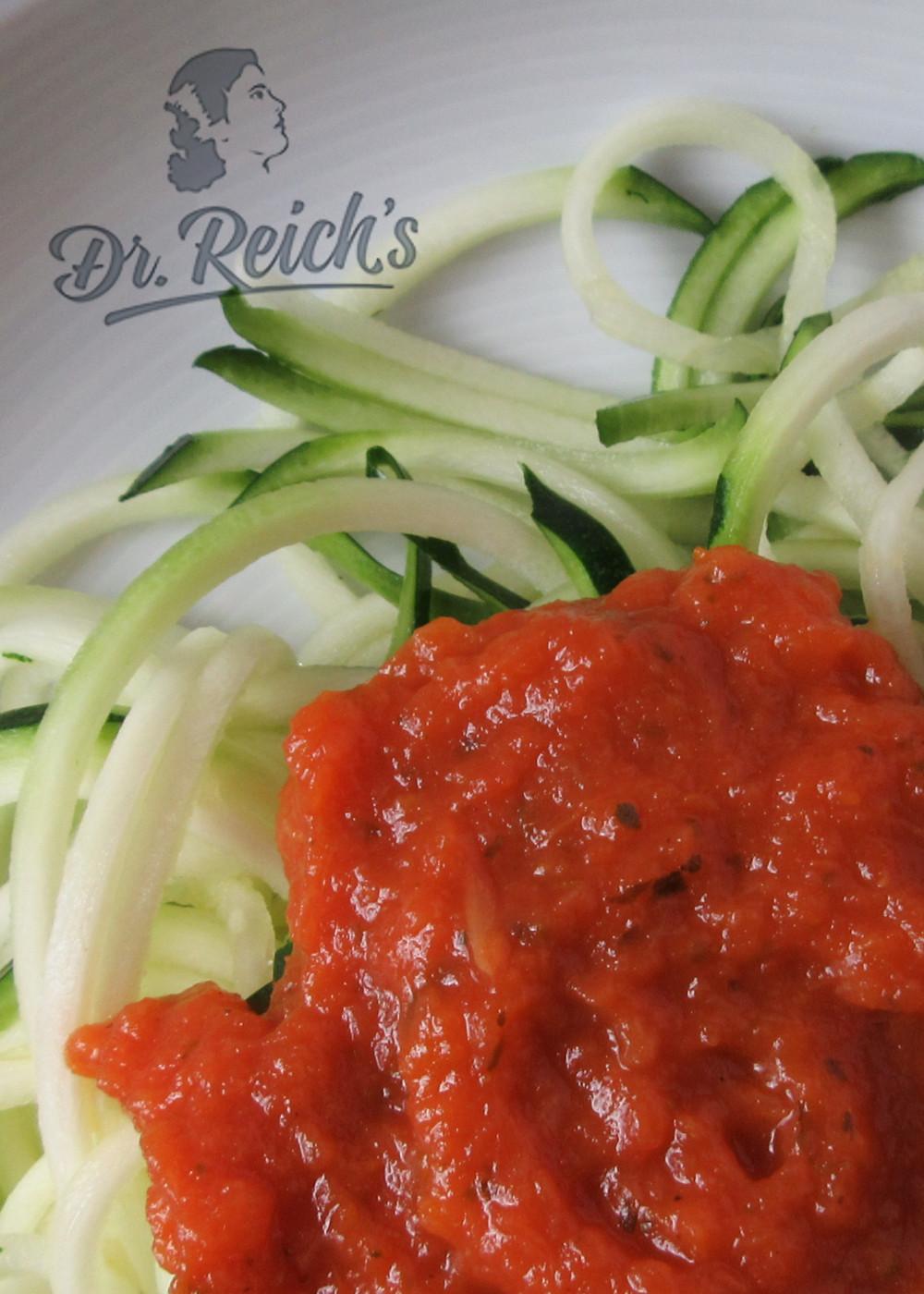 Dr Reichs Fodmaps Dolce Salsa Sauce Serviervorschlag