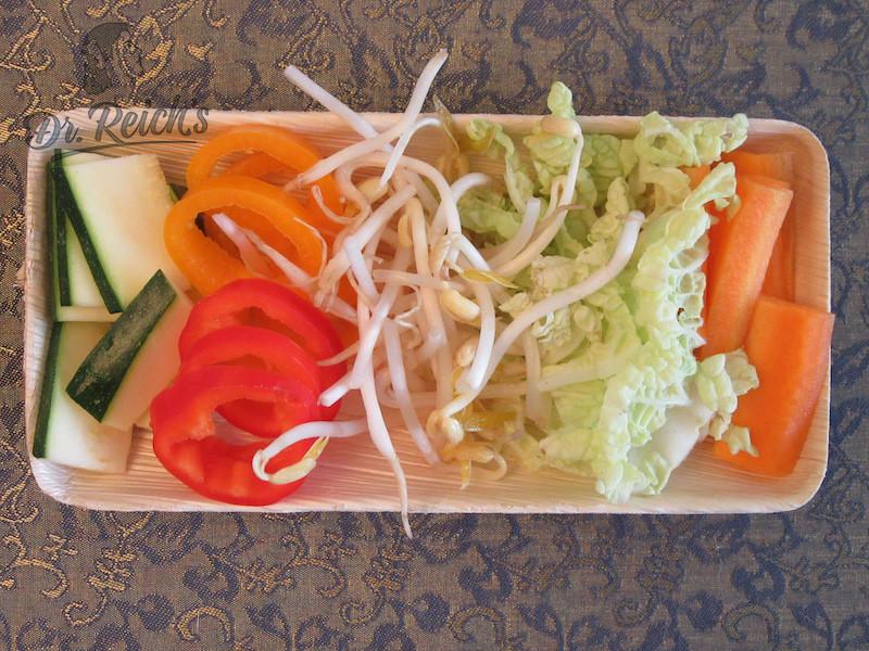 DrReichs FODMAP Nudeln - saisonales Gemüse