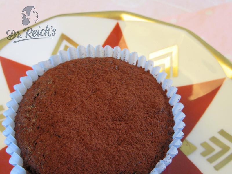 DrReichs FODMAP Naschen mehlfreier Schoko Muffin mit Kakao