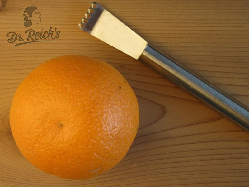 DrReichs FODMAP Kekse, Bio-Orange mit Zestenreisser