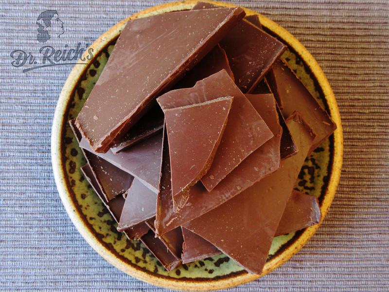 DrReichs Fodmap Schoko Mousse Zutat Edelbitter Schokolade