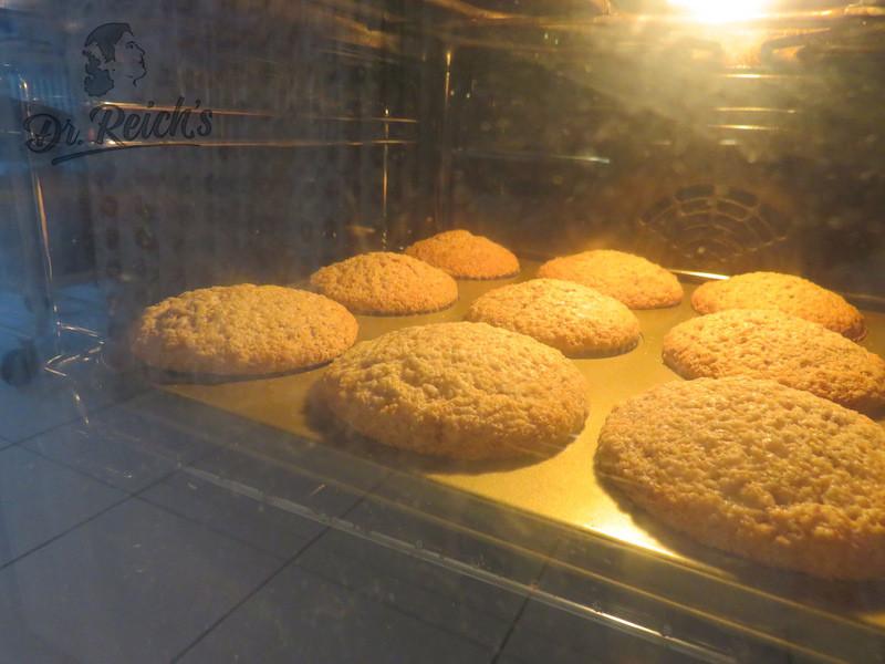 DrReichs FODMAP vegan Menu - die Nachspeise: vegane Muffins