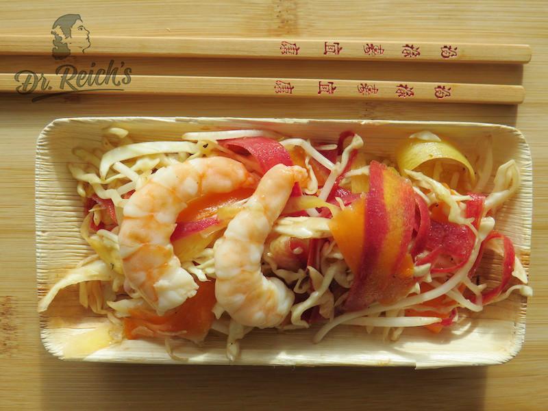 Dr Reichs Schnelle FODMAP Rezepte Asia Salat To Go