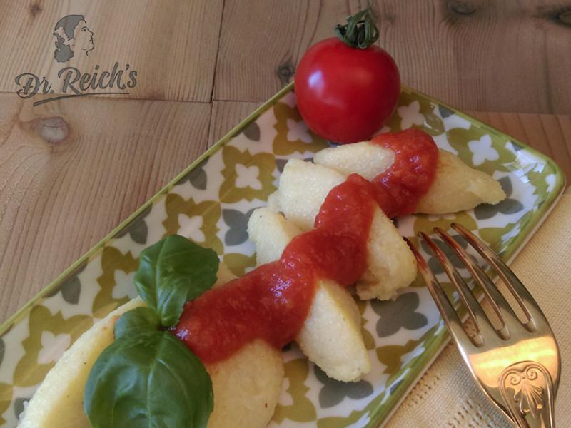 Dr Reichs FODMAP Gnocchi glutenfrei mit Salsa Dolce