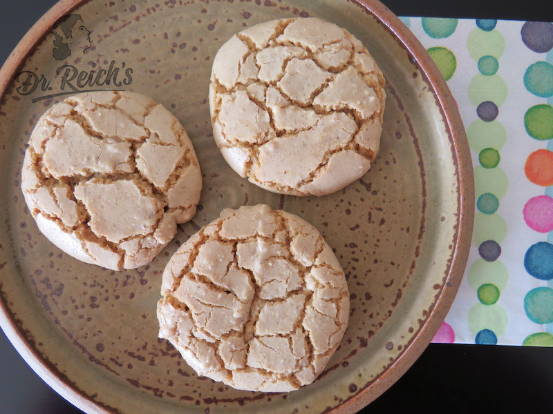 Dr Reichs schnell einfach Low FODMAP chewy chufla cookie