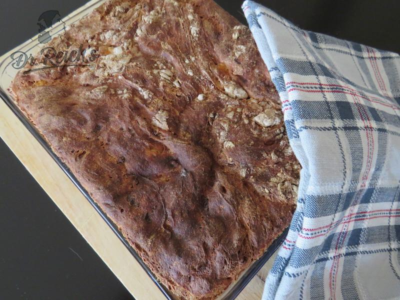 Low FODMAP Brot frisch aus dem Ofen