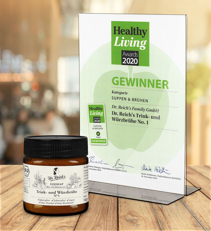 Dr Reichs Healthy Living Award