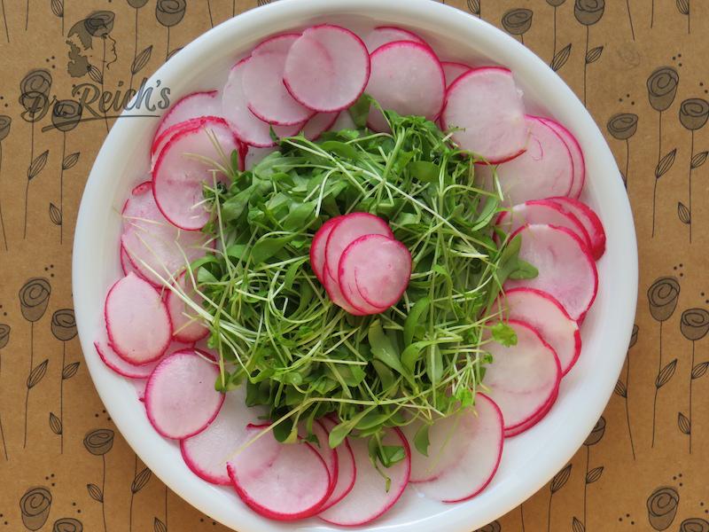 Dr. Reichs Radieschen Kresse Salat