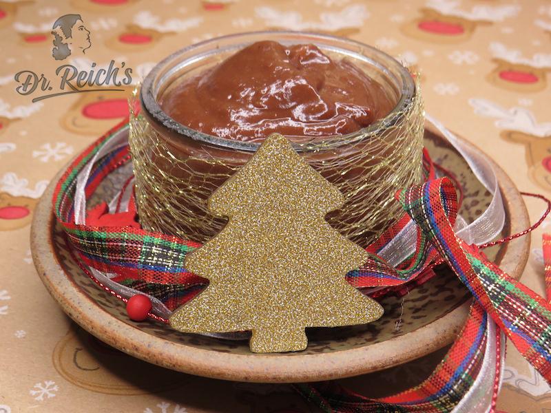 Weihnachten mit FODMAP - Dr. Reich´s vegane Schoko Creme schmeckt allen