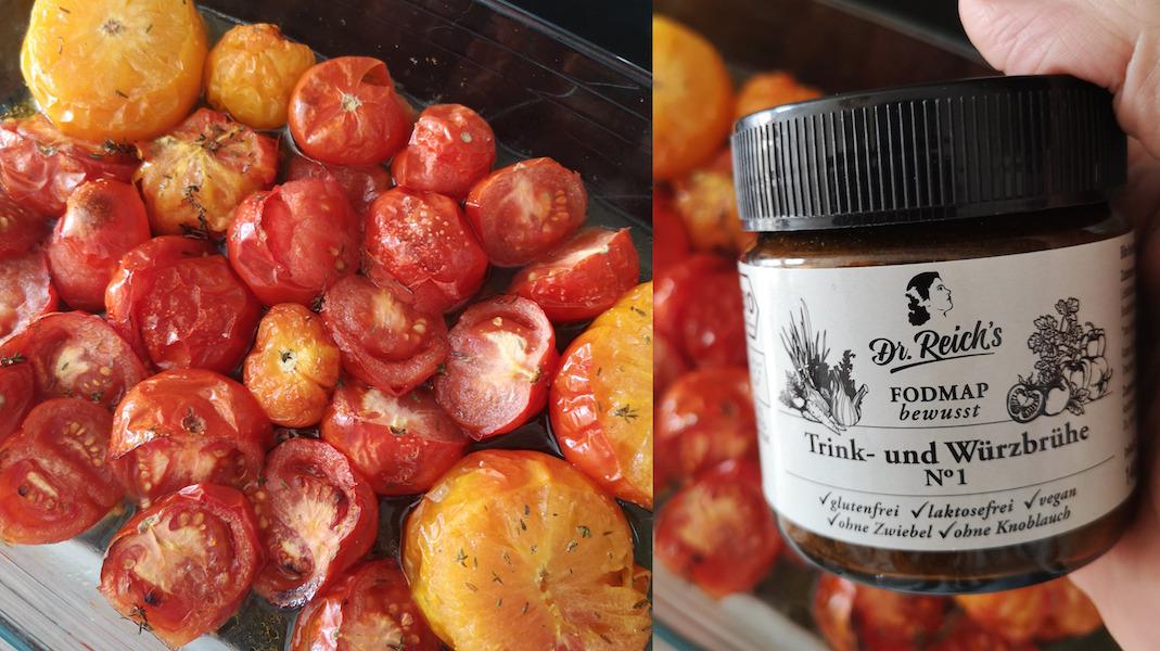 Dr. Reich´s FODMAP Vorspeise: Tomatensuppe gegrillt