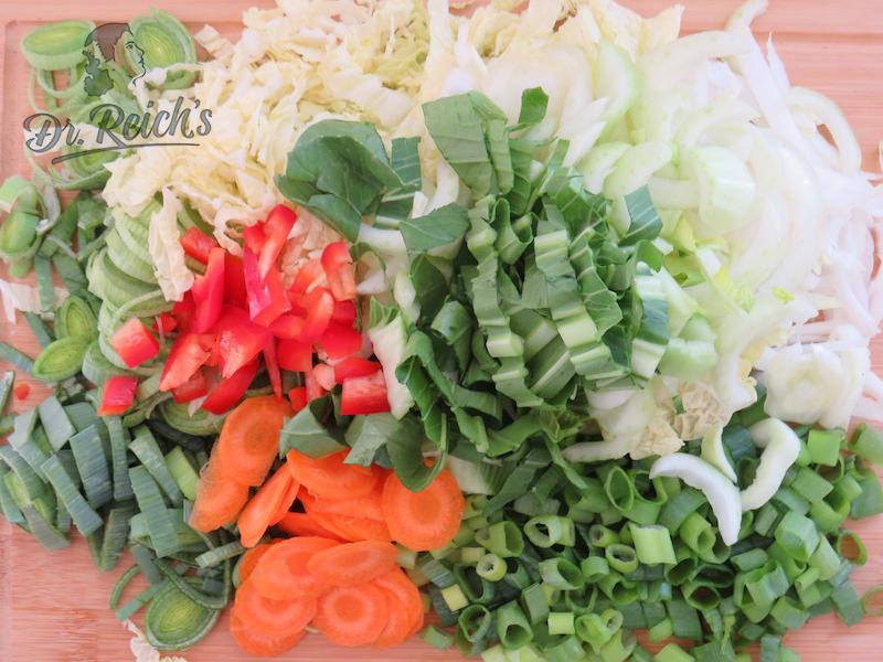 Dr. Reich´s FODMAP armes Gemüse